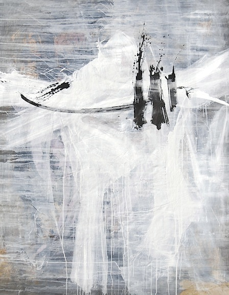 brenda-Heim-WhiteSamurai-abstract-calligraphy-painting-SumiInk-Acrylic-canvas