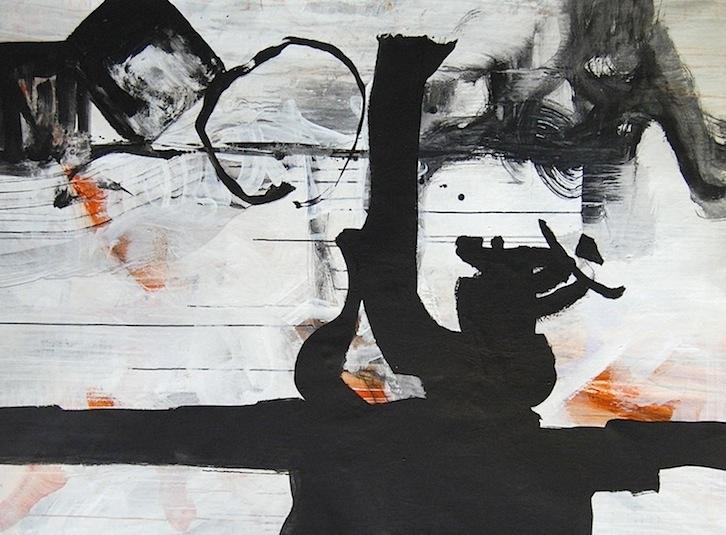 black and white modern art, brenda heim artist