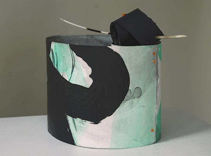 Ikebana paper sculpture