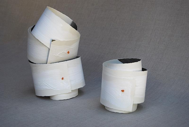 modern paper sculpture